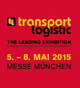 5. - 8. Mai 2015 Transport Logistic Messe in München - Anhalt TC Rent ist dabei in Halle B 5, Stand 209!